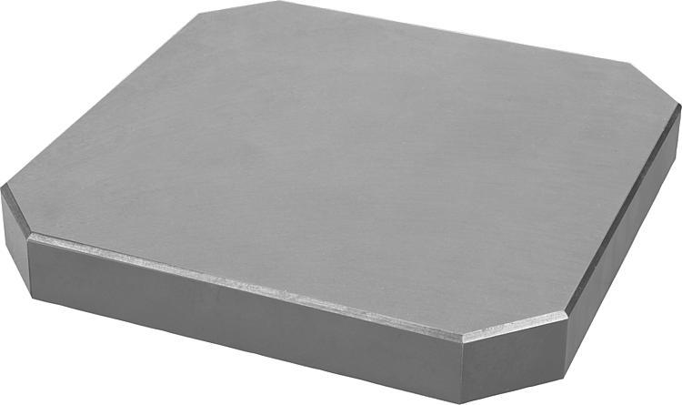 norelem plaque de base fonte grise. Black Bedroom Furniture Sets. Home Design Ideas